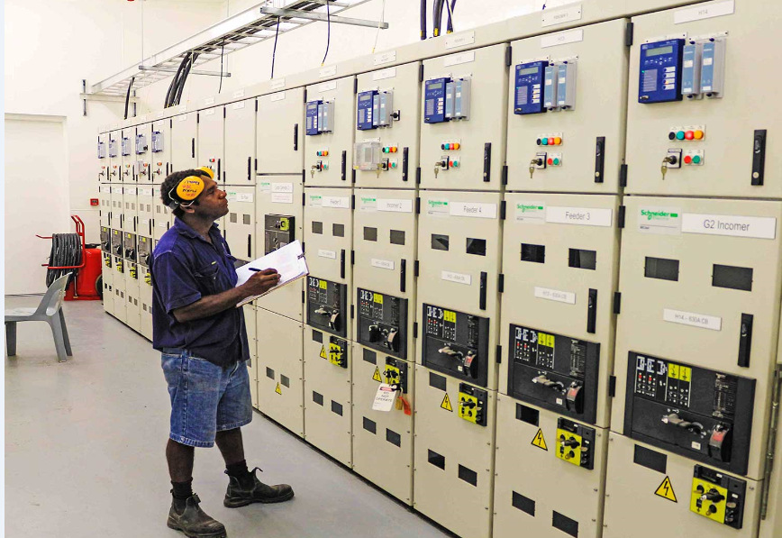 Honiara 11 kV Switchroom